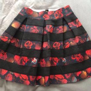 c02e2c43c6 Women Black Guess Floral Skirt on Poshmark